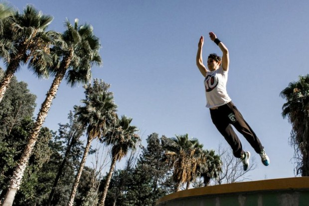 Parkour Athlete Tania Molina Rojo