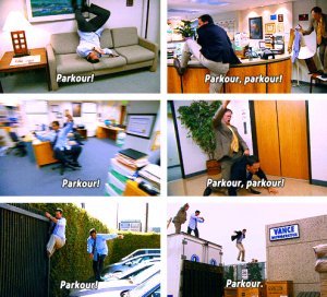 The Office - Parkour Episode
